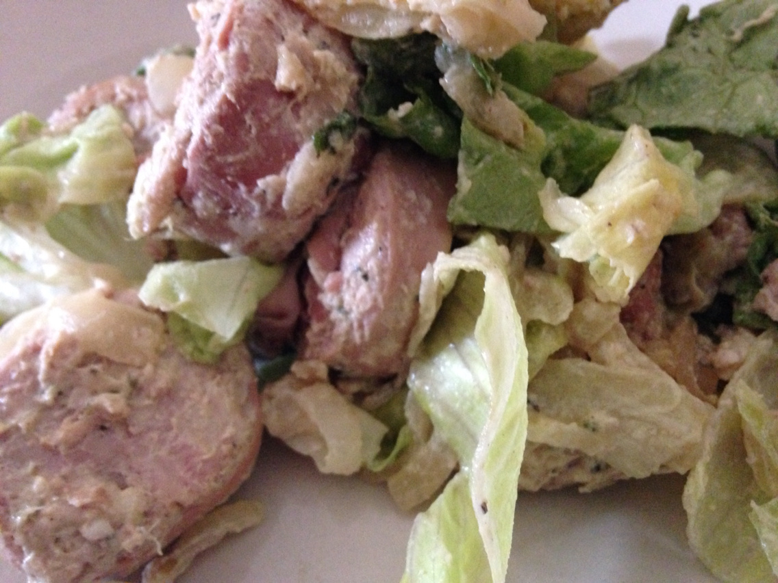 Andouille salad